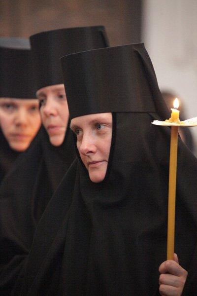 православные монахини