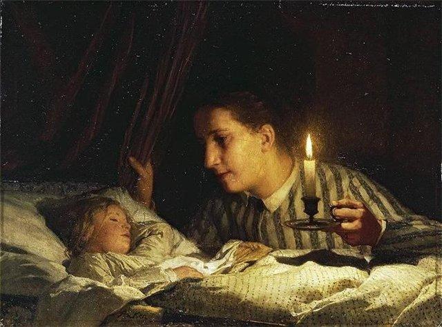 младенец и мать