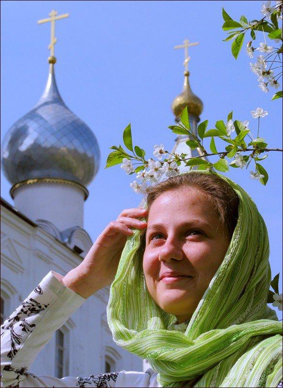девушка православная
