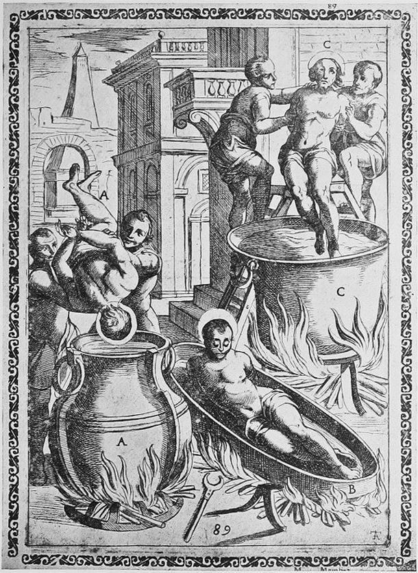 пытки святых