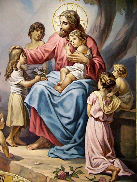 Иисус Христос и дети