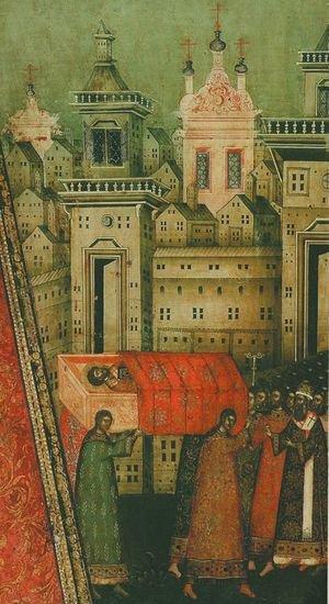 перенесение мощей свят Иоанна Златоуста