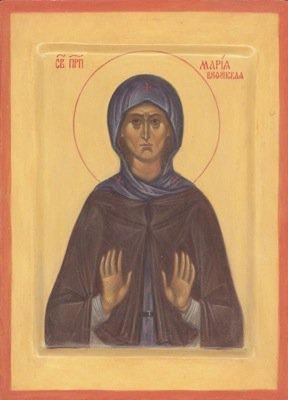 Преподобная Мария-Марин