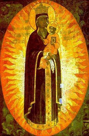 Шелтомежская икона Божией Матери