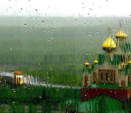 храм дождь