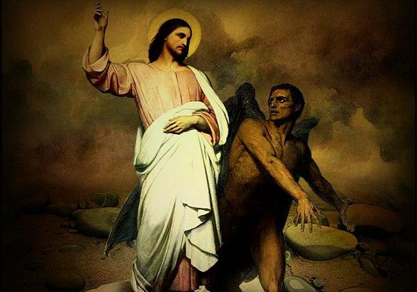 Господь и диавол в пустыне