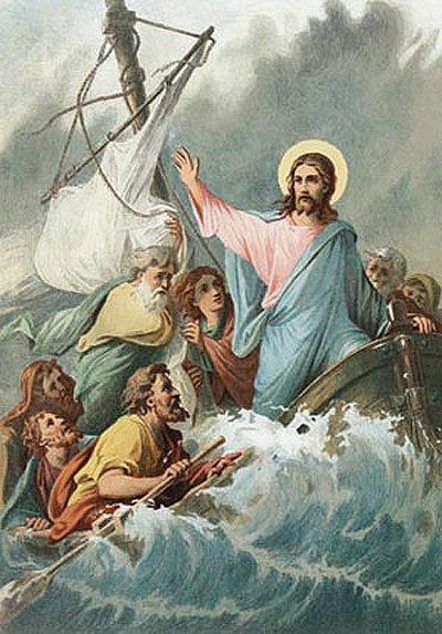 шторм Господь море