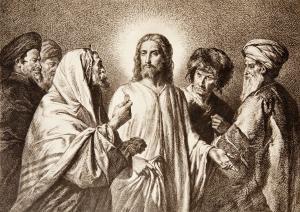 Господь и фарисеи и саддукеи