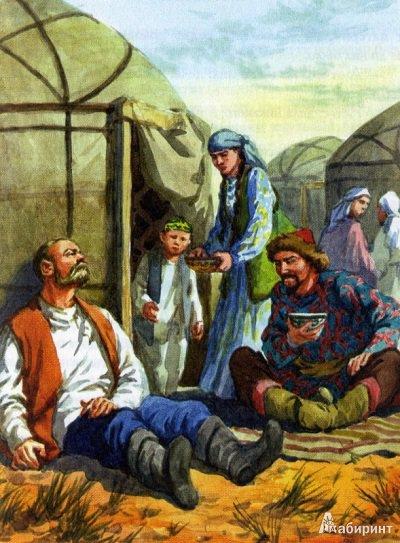 в плену у татар