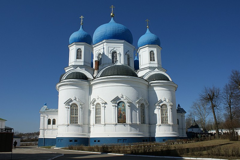 Боголюбский монастырь. Оптина Пустынь