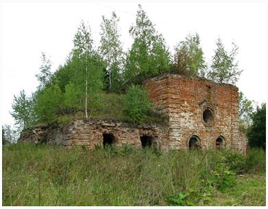 Оптина Пустынь – Церковь Знамения в Куровском
