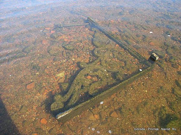 1334585867 030 Затопленный больше полувека назад город показался из воды в Ярославской области из за маловодья
