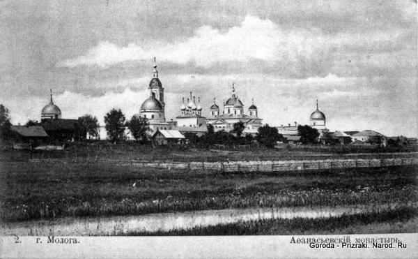 1334586383 045 Затопленный больше полувека назад город показался из воды в Ярославской области из за маловодья
