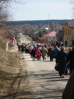 Оптина Пустынь – митр.Климент в Козельске 17 апр.2012