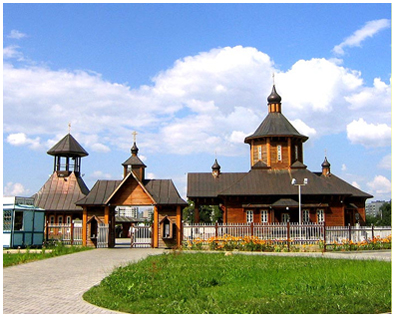 Оптина Пустынь - храм Оптинский Старцев в Минске