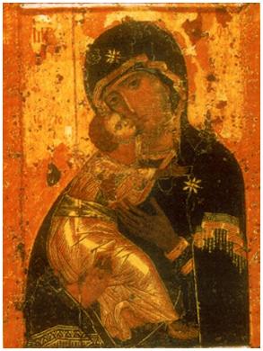 Оптина Пустынь - Владимирская икона Б.М.