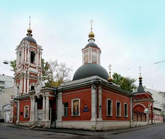Храм Николая в Подкопаях современыый вид