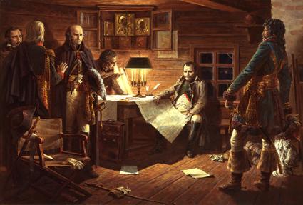 Военный Совет в Городне 12/25 октября 1812 года