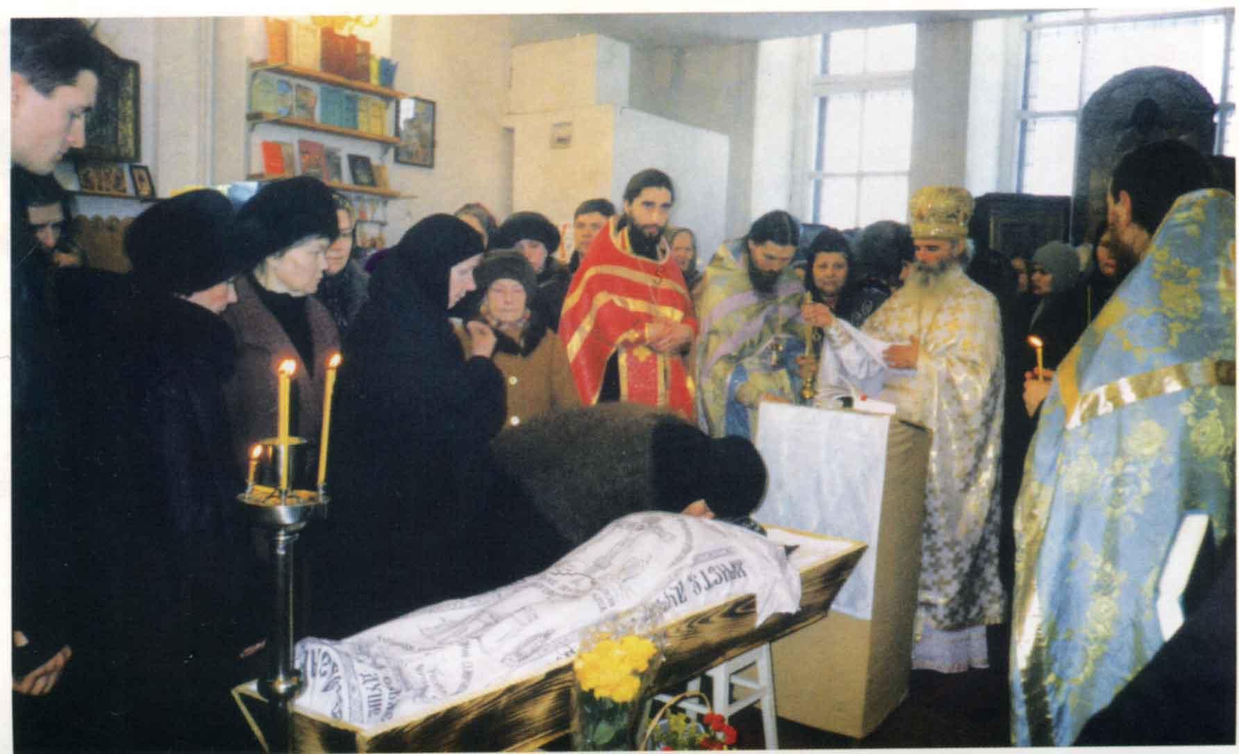 Блаженная старица схимонахиня Мария (Матукасова)