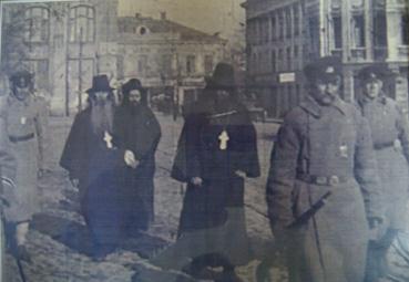 арестованные священнки в Одессе, 1920-егоды