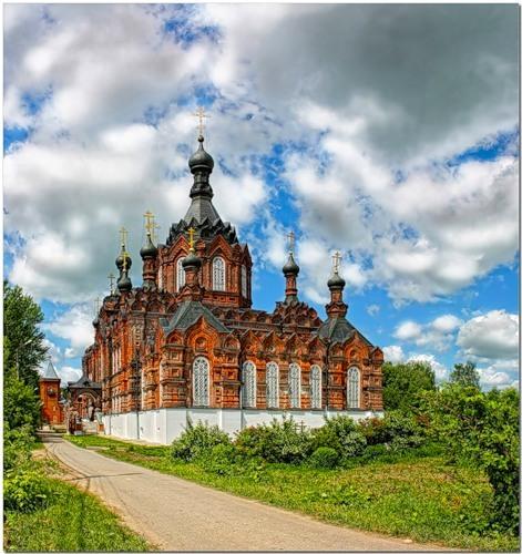 Шамордино, Казанский собор
