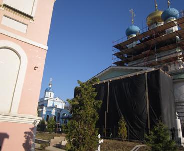 ремонт Введенского храма